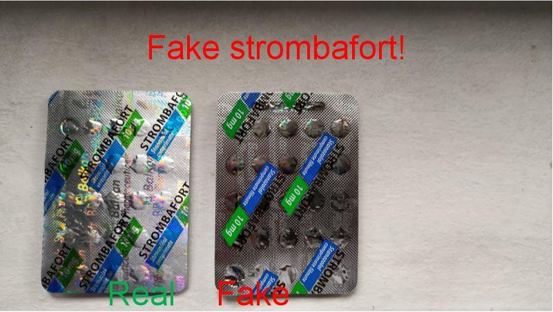 Fake Strombafort